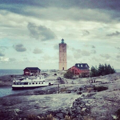 Söderskär Lighthouse, in Porvoo, Finland