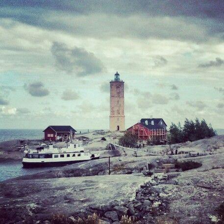 Söderskär Lighthouse, in Porvoo, Finland