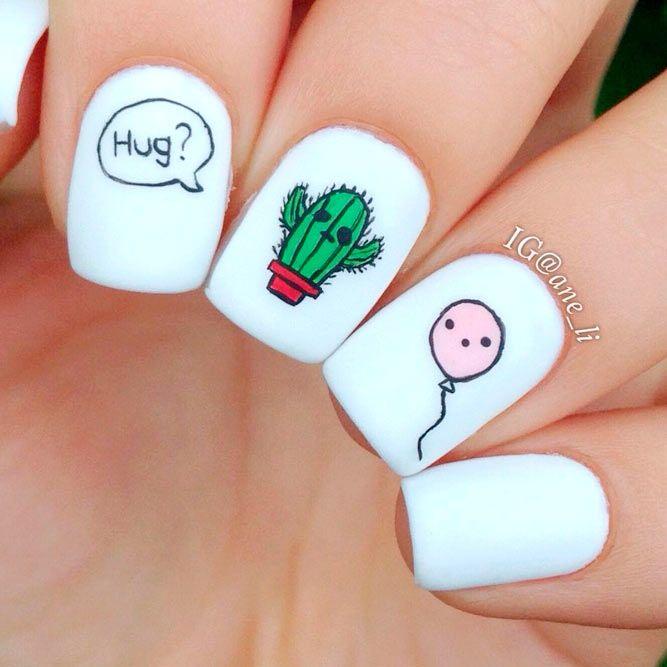 54+ Besten Weiß Acryl Nägel Designs – Beste Nägel