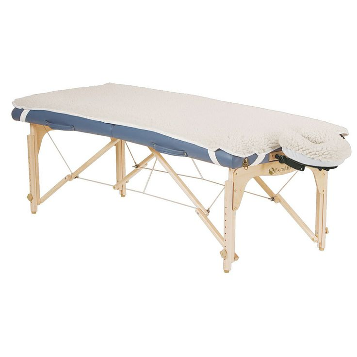 earthlite basics fleece pad set for massage tables by earthlite massage tables