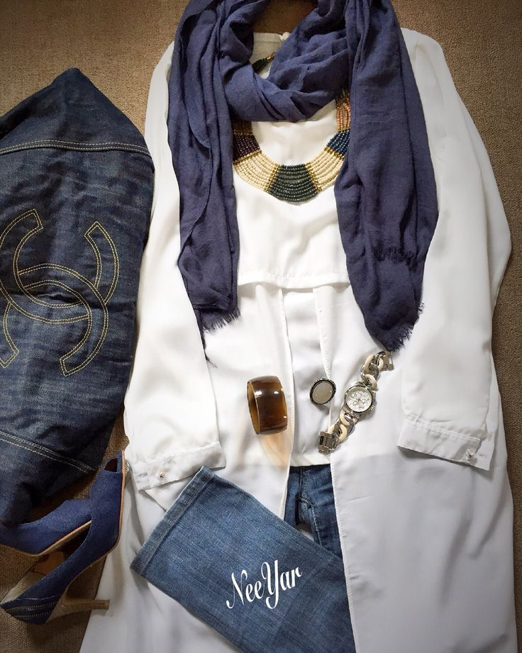 Suka Sesuatu yg sederhana sperti jeans dan blouse putih ini..