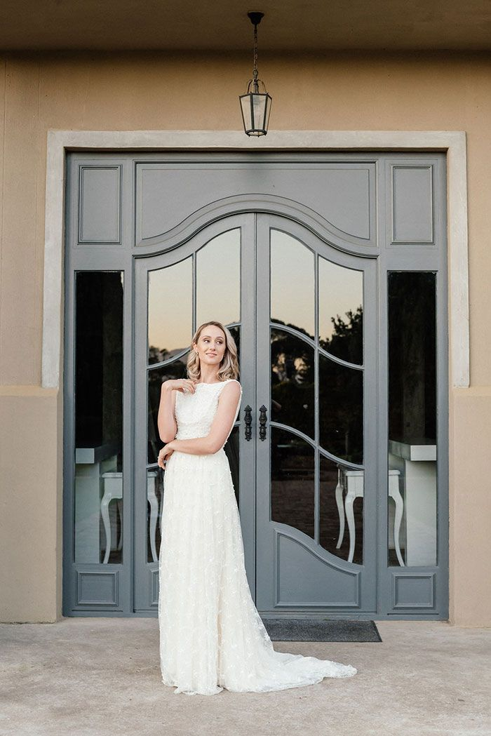 Italy Inspired Wedding For Two In South Africa Bridal Style Wedding Inspiration Bridal