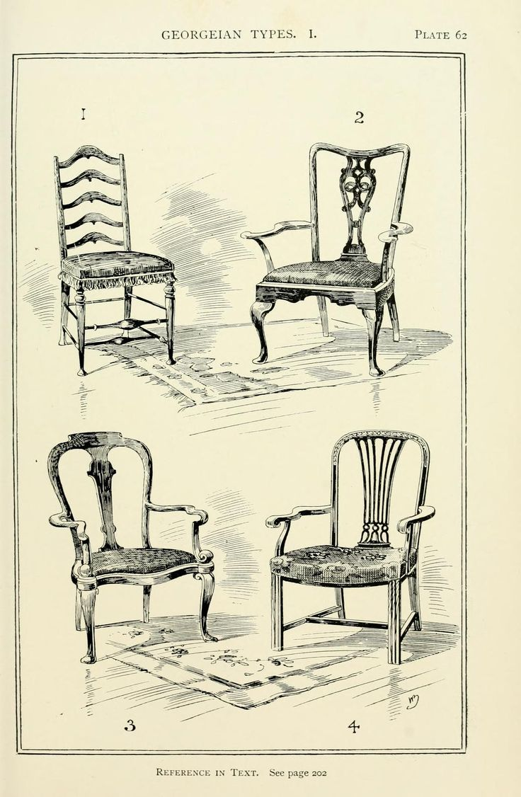 Rococo furniture sketch - Style In Furniture