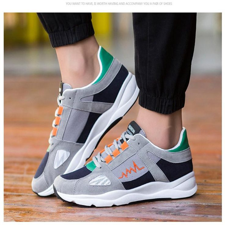 New Spring and Autumn Men High quality Sports shoes Joining together  Running shoes lace-up Walking shoes Outdoor Jogging shoes 65880e7706ea