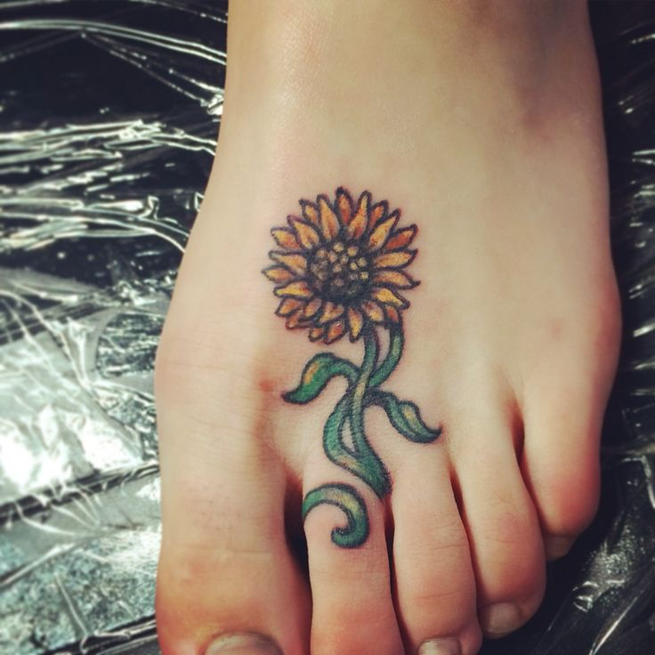 25 Best Ideas About Foot Tattoos On Pinterest: 17 Best Ideas About Sunflower Foot Tattoos On Pinterest