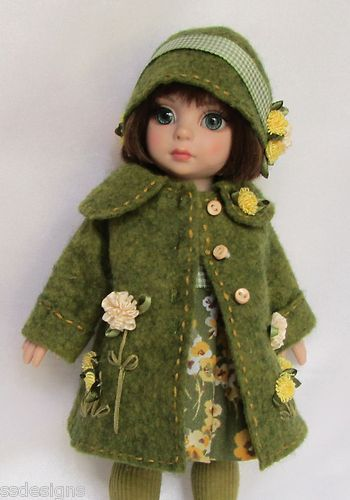 """Ooak patsy's attired for autumn! for 10"""" ann estelle, etc. made by ssdesigns"""