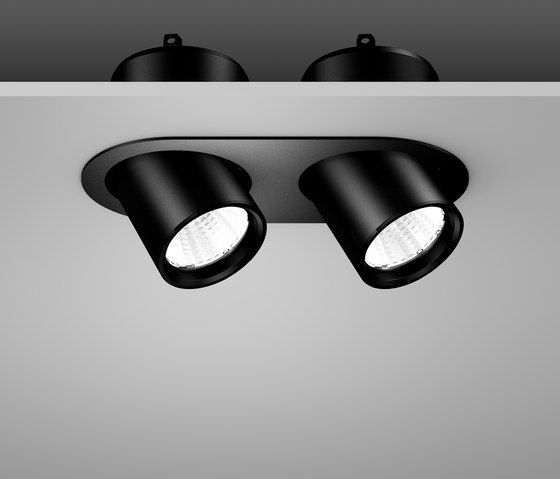 General lighting recessed ceiling lights pura rzb check it out on architonic