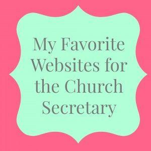 Church Secretary Websites
