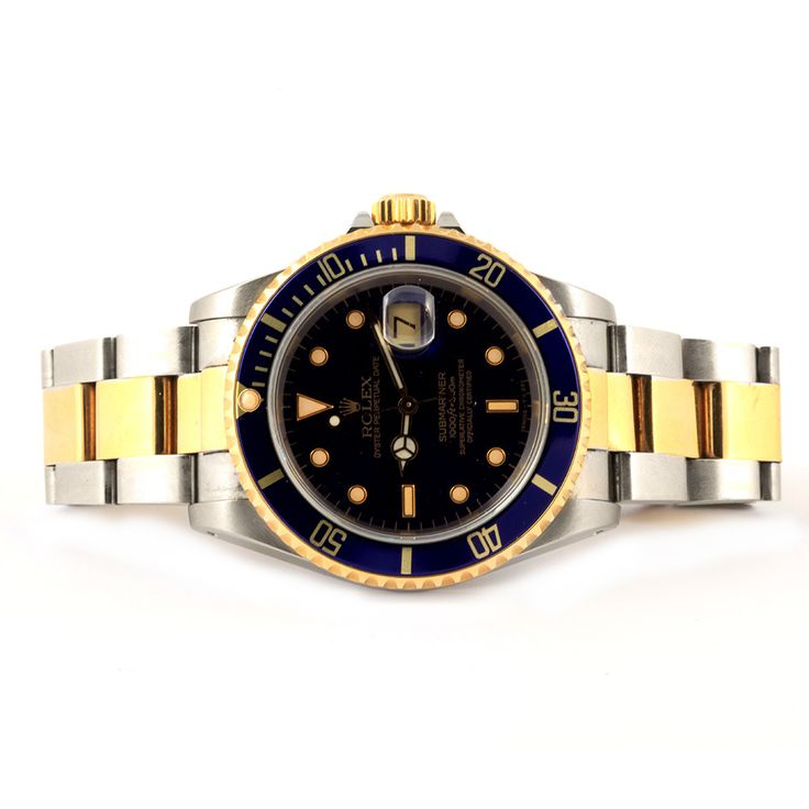 Rolex watch submariner, stainless steel and yellow gold ref. 16803.