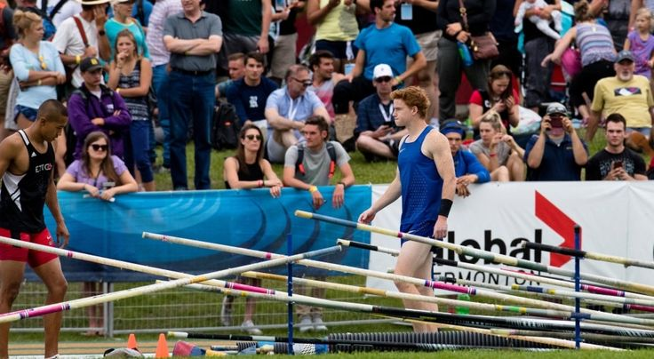 Athletes compete at the 2016 Canadian Track and Field Championships. Shawn Barber Shawnacy Campbell Barber Shawnacy Barber Pole Vault @vaultbarber #shawnbarber #shawnacybarber #vaultbarber #polevault