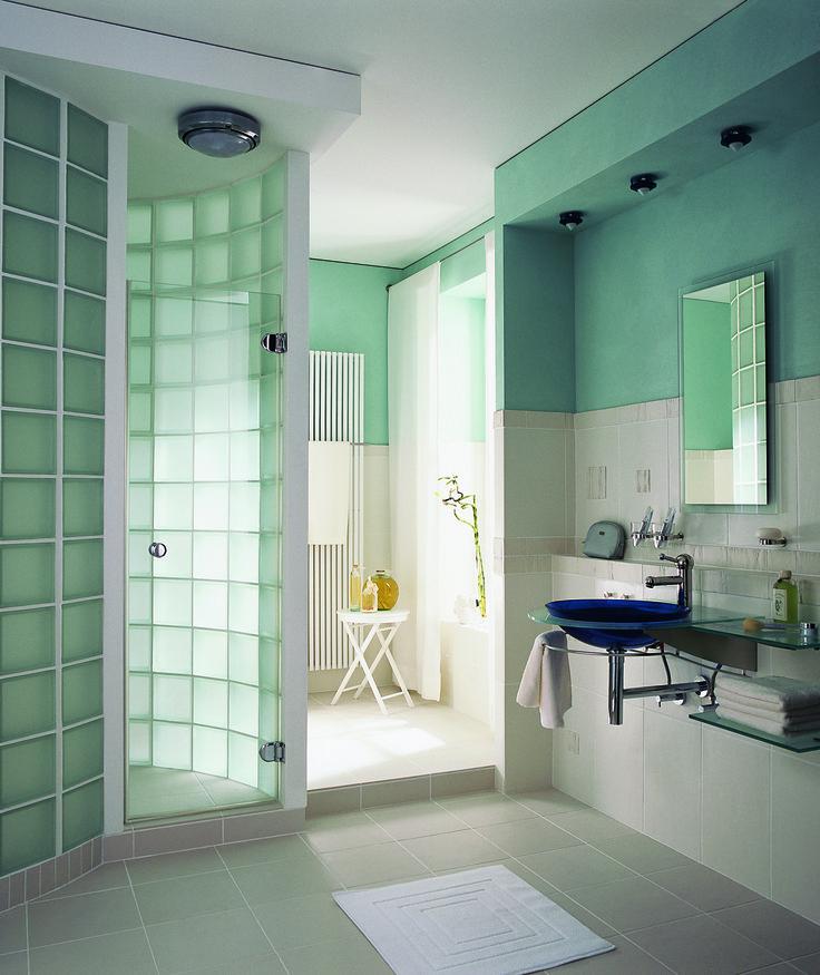 M s de 1000 ideas sobre duchas de vidrio en pinterest - Bloque de vidrio precio ...
