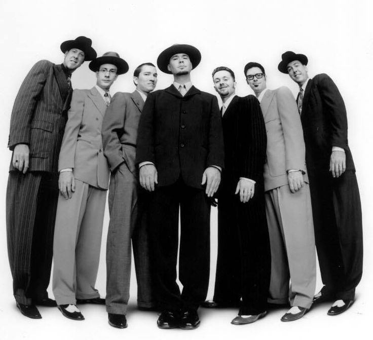 This year's inaugural Rock the Rails lineup includes swing music revival band Big Bad Voodoo Daddy at V. Sattui Winery on August 24.