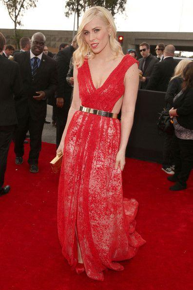 Natasha Bedingfield Wears Emerson at the Grammy Awards 2013