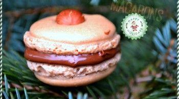 Vánoční makronky / macarons