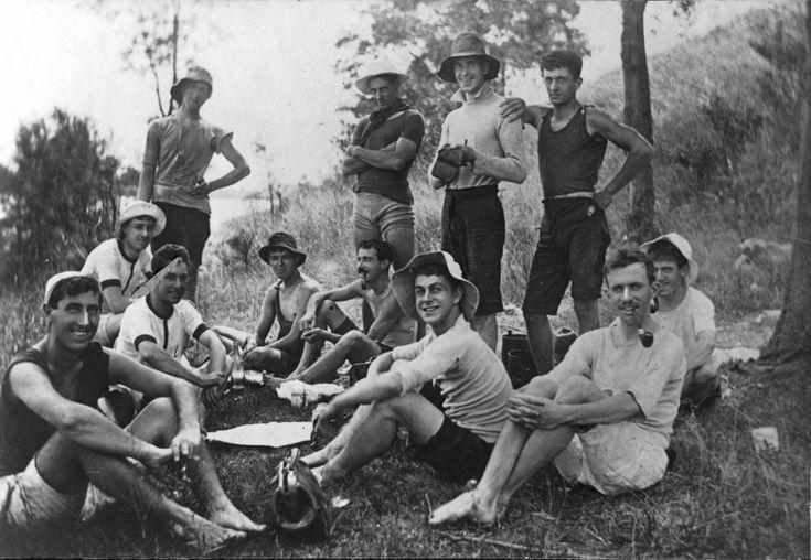1908 Australia day picnic