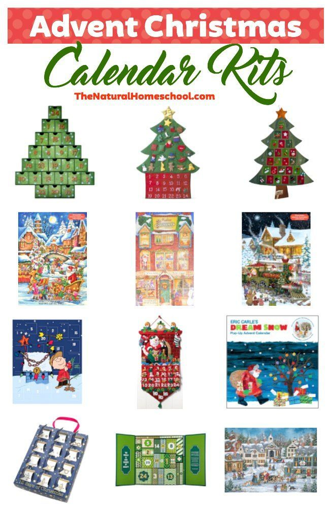 In this post, we are going to be sharing a list of wonderfully amazing advent Christmas calendars that you can have at home and bring out every year!