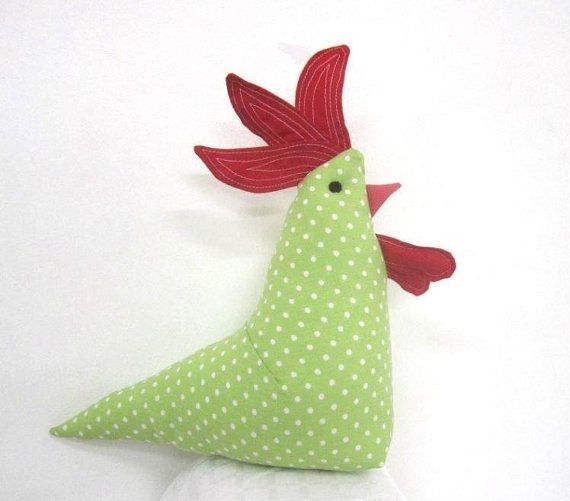 Rooster, crib toy, nursery toy, bedtime toy $15