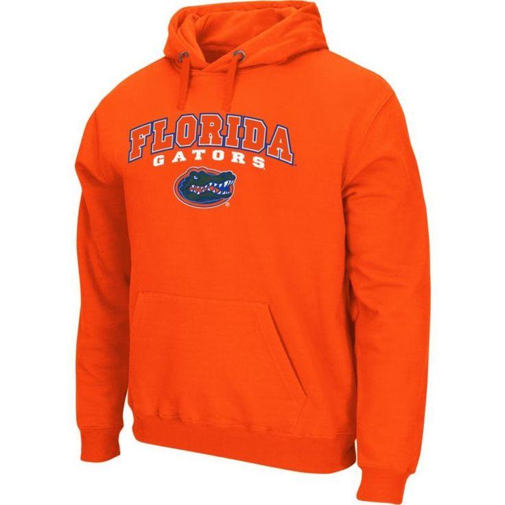 Colosseum Athletics Men's Florida Gators Orange Secondary Fleece Hoodie, Size: Medium, Team