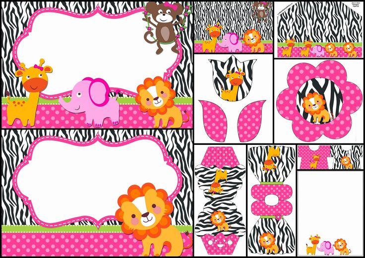 jungle-for-girls-free-printable-kit.jpg (1600×1131)