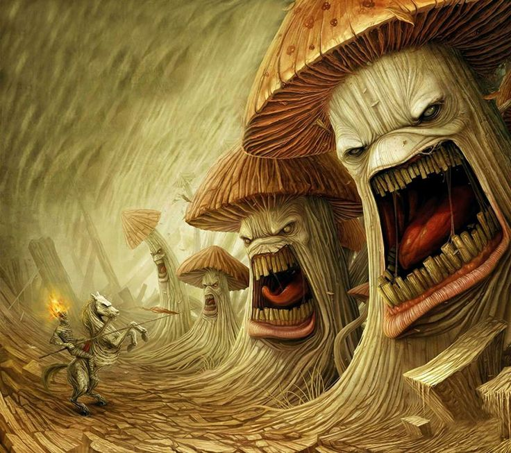 Art-Anton Semenov-Infected Mushroom