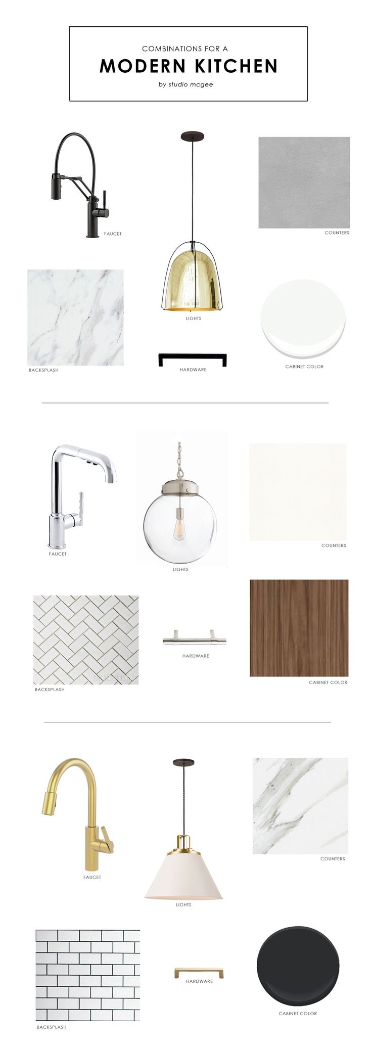 Studio McGee   Combinations for a Modern Kitchen