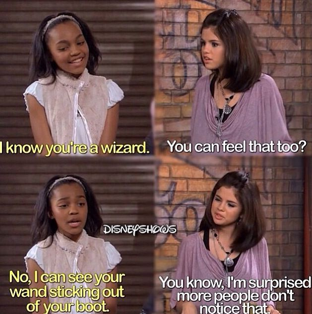 Wizards of waverly place!