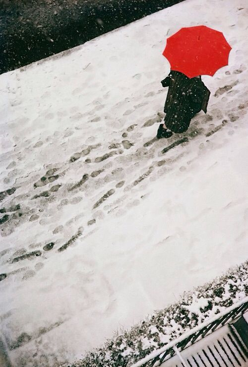 Saul Leiter Footprints C. 1950