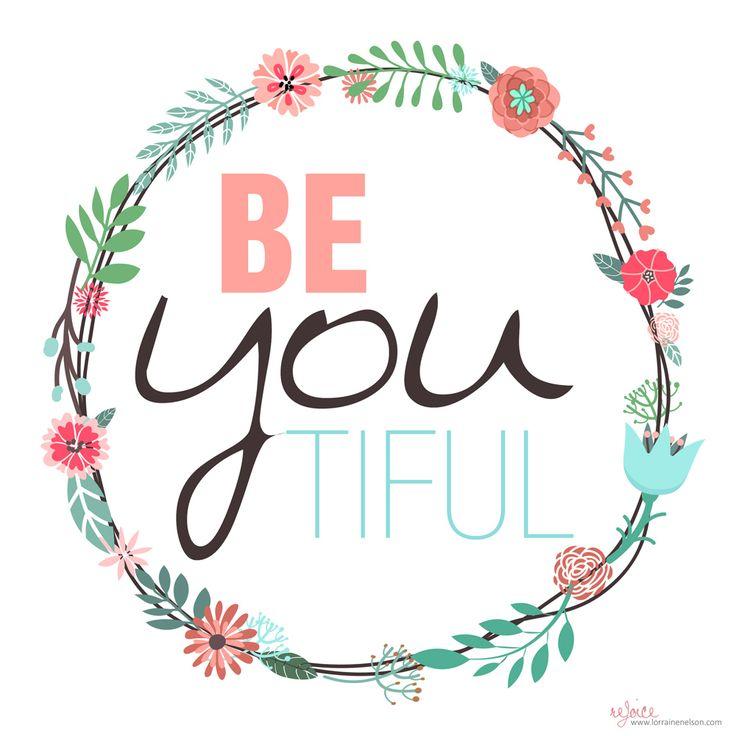 Be-you-tiful Tag Design (Free Printables) Free Items for ...