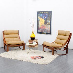 1970s lounge chair Tessa T4, design: Fred Lowen