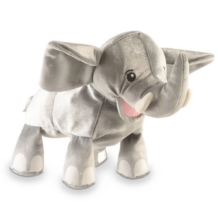 Γαντόκουκλα Ελέφαντας Διαστάσεις: 27 x 30 εκ. Από 2 έως 9 ετών. http://www.toy-box.gr/paixnidia/koukles/gantokoukles/results,1-90