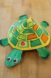 Kindergarten The Alphabet Activities: Turtle Craft