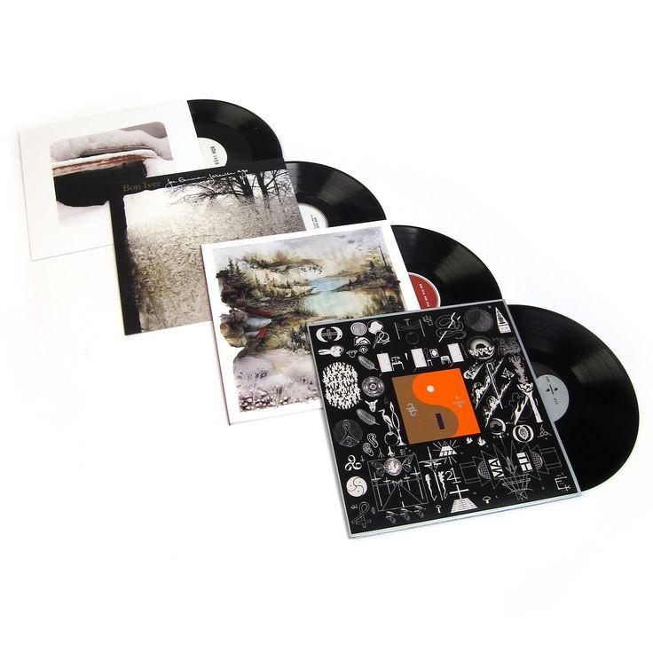Bon Iver: Vinyl LP Album Pack (For Emma, Forever Ago, Bon Iver, 22, A Million, Blood Bank)