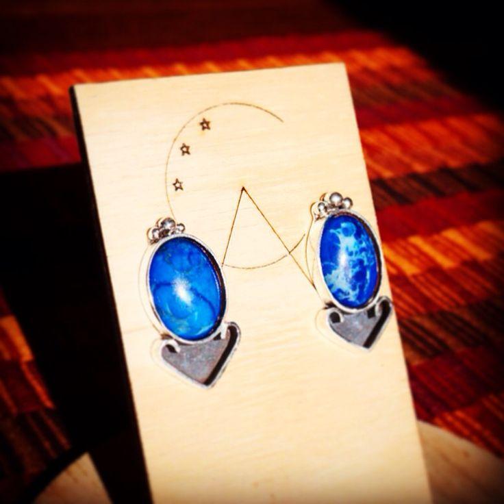 Silver & lapislázuli. #handmade #gems #silver #accessories #lapislázuli #altocentinela