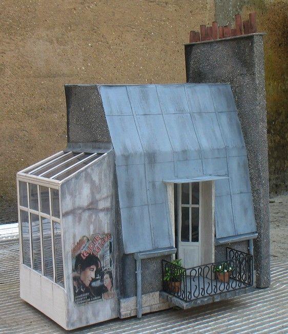 IDEES les toits de Paris avec verrière avec toiture zinc http://tom.pouce.dream.pagesperso-orange.fr/toiture.htm