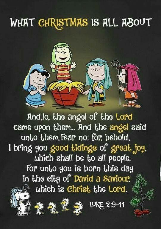 Peanuts and the true meaning of Christmas