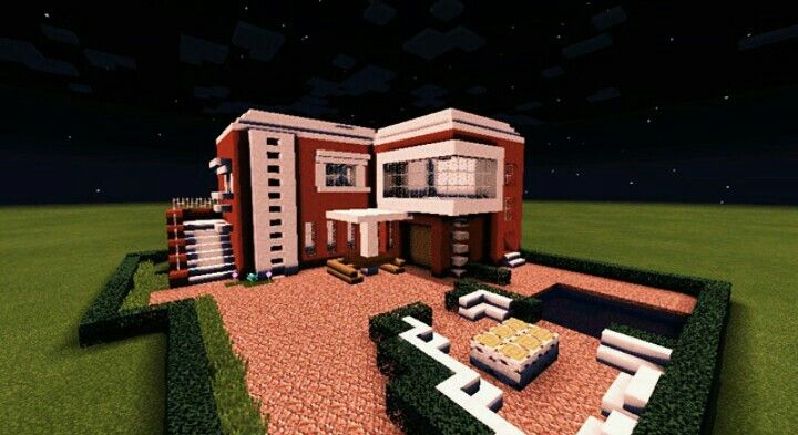 @minecr4ft_biome minecraft build modern home