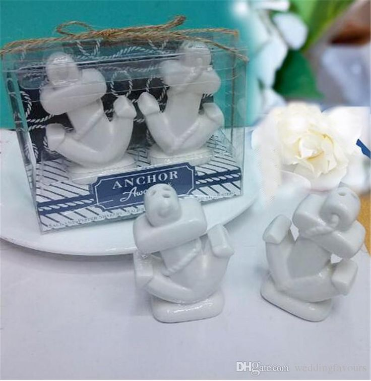 Dhl 100boxes Nautical Themed Wedding Ceramic Favors Anchors Salt And Pepper Shakers Engagement Keepsake Souvenir Favor Wedding Favor Labels Wedding Favors Diy From Weddingfavours, $160.81| Dhgate.Com