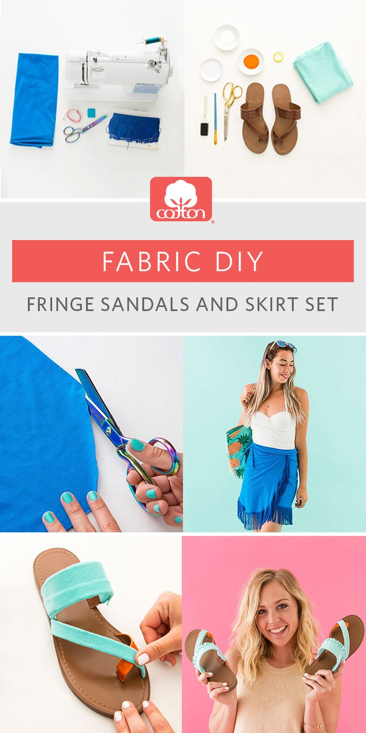 Have leftover fabric? We teamed up with @britandco to show you what you can do with just 1 yard of cotton fabric!