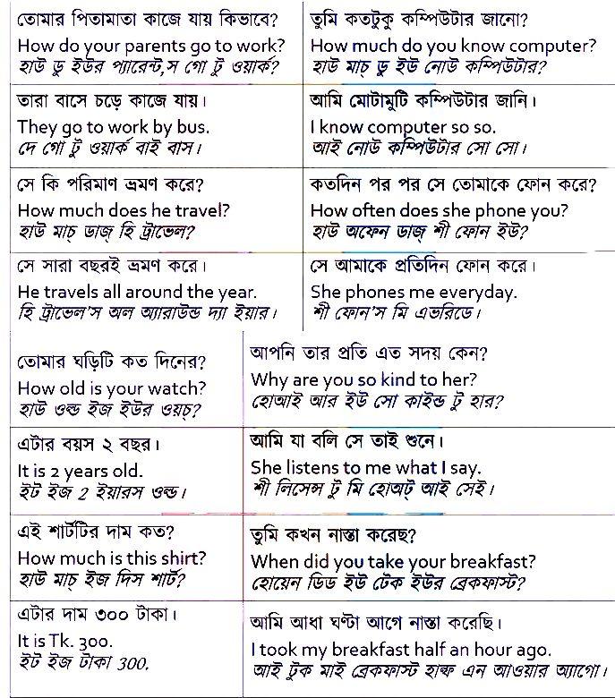 english to bengali translation dictionary online