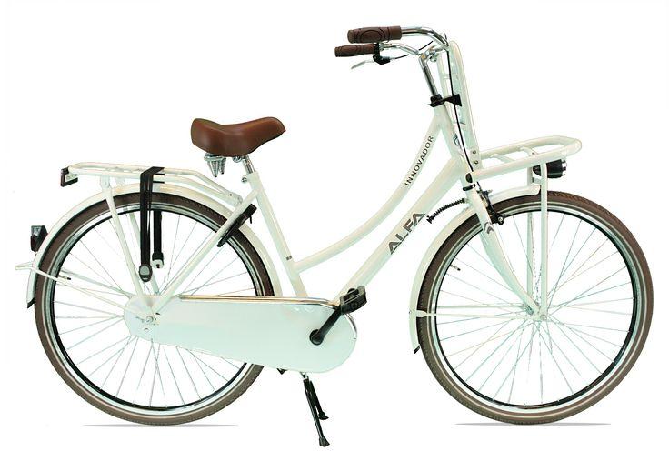 Transportfiets  Alfa Innovador Dames 28 inch / 53cm – 1 SP Wit