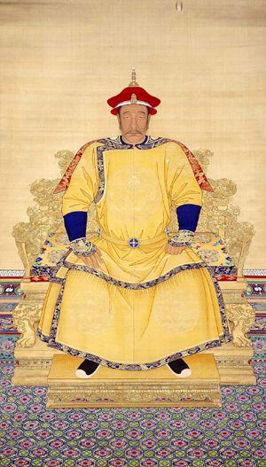 청태조 누르하치의 초상화./사진 출처=위키피디아