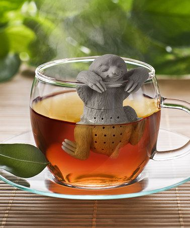 Fred & Friends - Love this Slow Brew Sloth Tea Diffuser on #zulily! #zulilyfinds