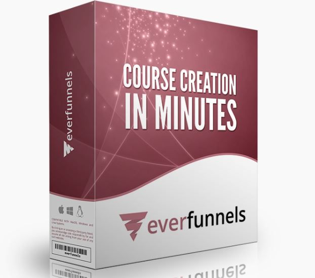 EverFunnels Training Course Membership Software - Best Seller Software Will Enable You to Setup Your Training Course, Set Up All Your Pages, Funnels and Emails for Your Training Course in a Matter of Minutes
