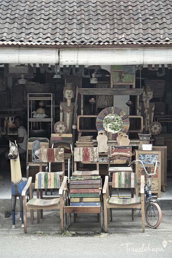Guide to Shopping in Kerobokan | Bali | Taxidermy heads :(