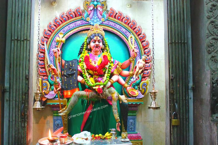 Places on the planet you must see: Periyachi Amman - The World's Most Fearsome Goddess