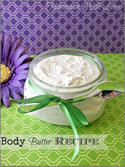 Nourishing Body Butter Recipe