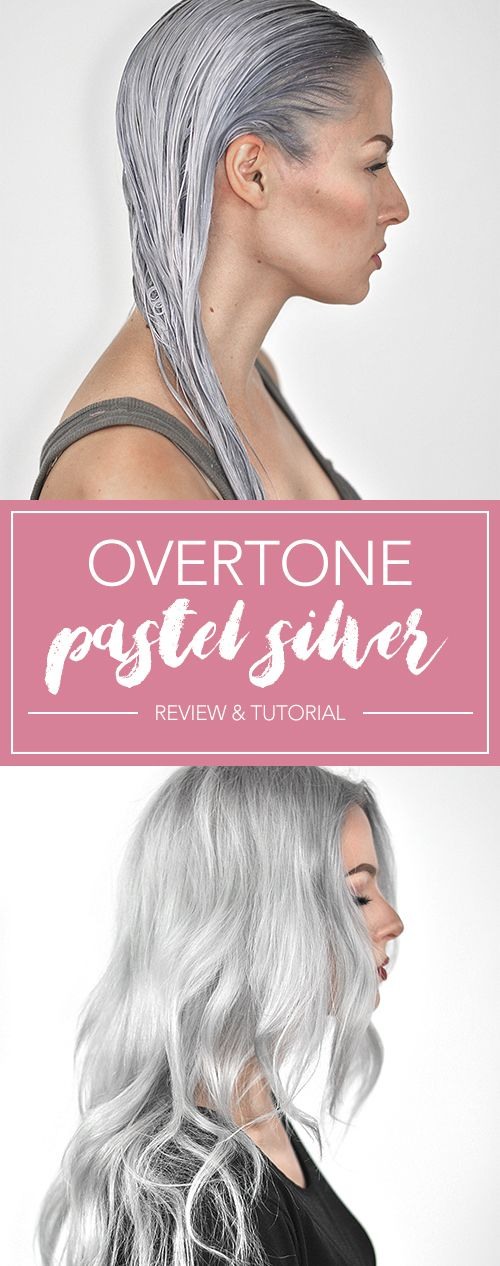 OVertone Pastel Silver Review And Tutorial