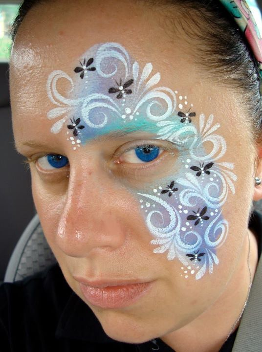 Dragonfly (Face Painting) by Catherine Pannulla