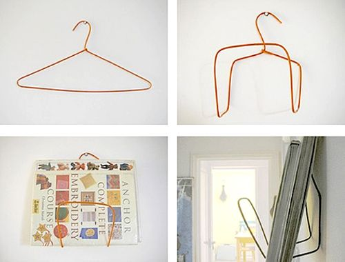 34 best Wire hanger projects images on Pinterest | Wire coat hangers ...