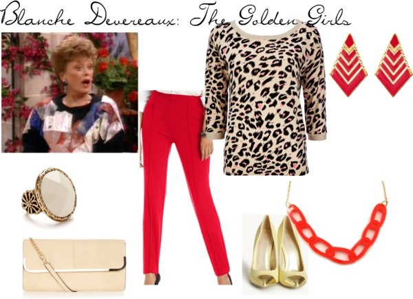 """Blanche Devereaux: The Golden Girls"" by alexandra-mccreary on Polyvore"